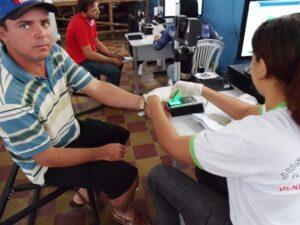 Recadastramento biométrico em Mata Grande