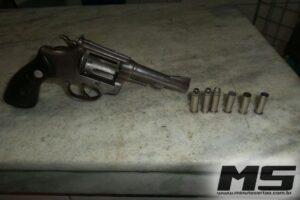 arma apreendida Inhapi