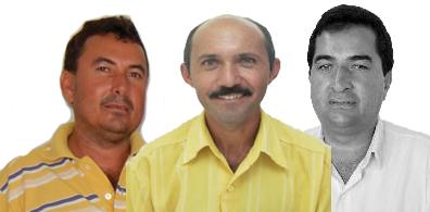 Kel, Zé Cícero e Nalcinho (Foto: Arquivo)