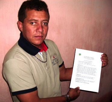 Vereador Aldo do Bar (Foto: Juvenal Silva)